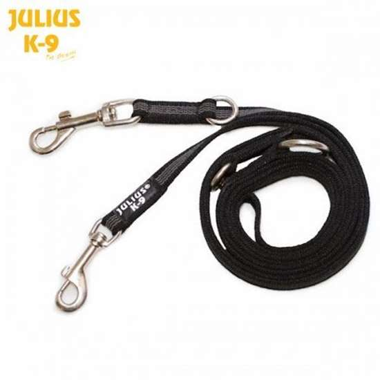 Picture of Super grip double leash, Black - 0.8 in