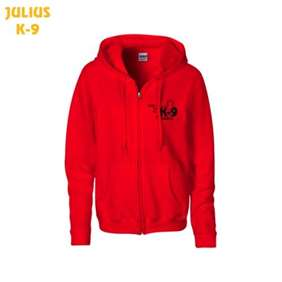 Picture of Julius-K9® Pullover with zipp - RED