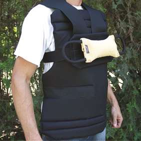 Picture of Breast belt with foam liner