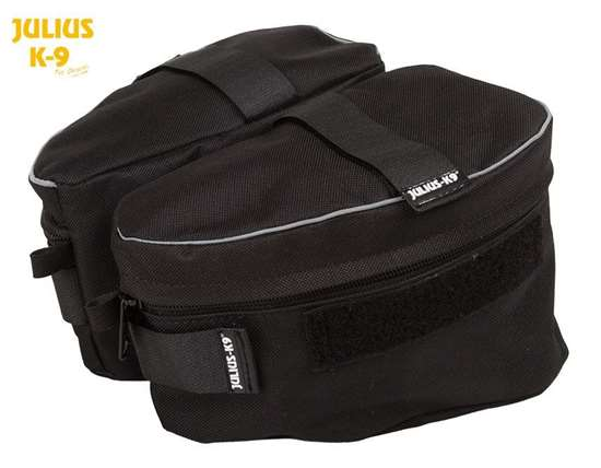 Picture of Sidebag black for K9 Powerharnesses (1622NT)