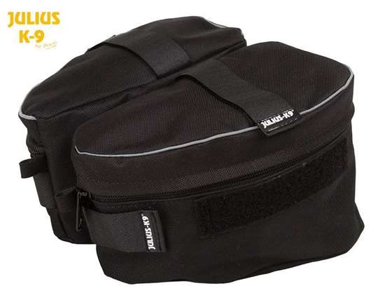Picture of Sidebag black for K9 Powerharnesses (1622NT-3)