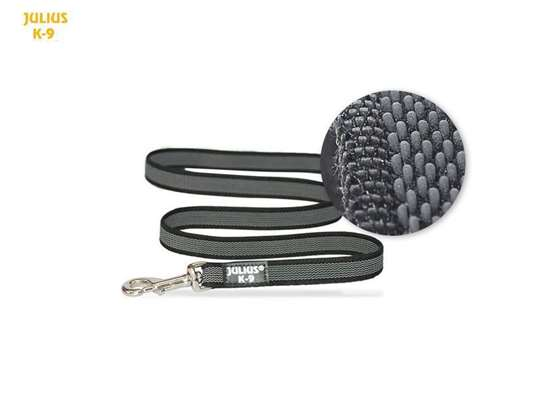 Picture of Super-grip leashes Black-Gray 0.55 in with handle- more lengths available