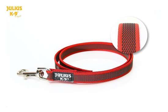 Picture of Super-grip leashes 0.8 in with handle, Red - more lenghts available