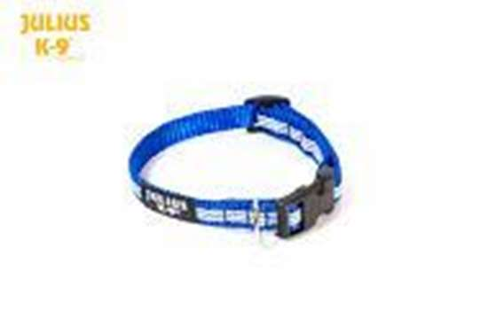 Picture of IDC® Tubular webbing collar, Blue (218HB-NL-B)