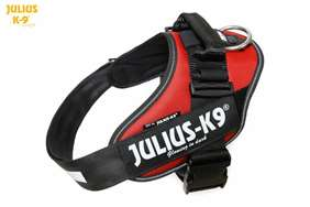 Julius-K9 IDC Powerharness Red-Brown Size: 1