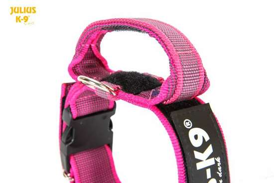 Picture of Julius-K9® collar with handle - PINK (1.97 in)