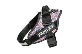 Picture of Julius-K9 harness IDC®, Size 3, Union Jack