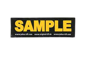 Picture of Wish label large - orange - 6,3 x 2 in (162LRW-G-OR)