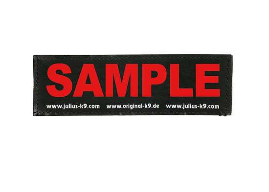 Picture of Wish label small - red - 4,3 x 1,2 in (162-LRW-K-R)
