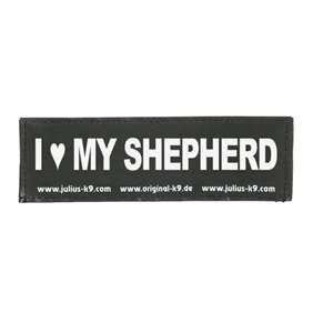 Picture of I ♥ MY SHEPHERD (162LR-K-36296)