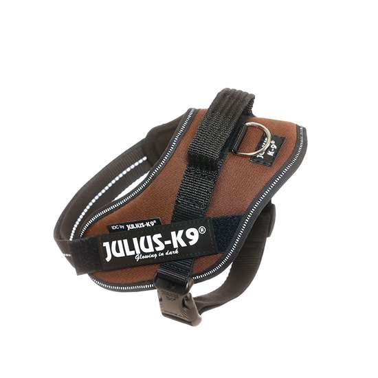 Picture of Chocolate brown, Mini Julius-K9 IDC® Powerharness
