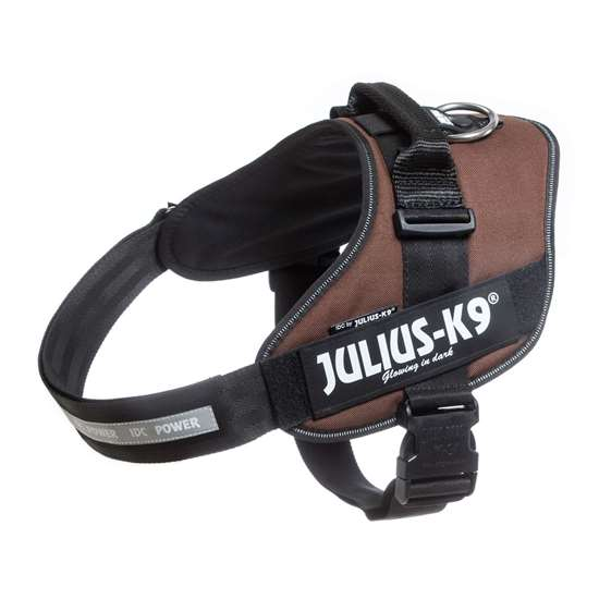 Picture of Chocolate brown, Size 3 Julius-K9 IDC® Powerharness