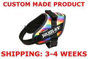 Picture of Rainbow, Mini Julius-K9 IDC® Powerharness