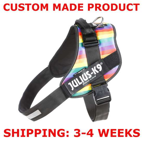 Picture of Rainbow, Size 4 Julius-K9 IDC® Powerharness