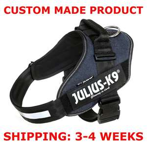 Picture of DENIM, Size 2 Julius-K9 IDC® Powerharness