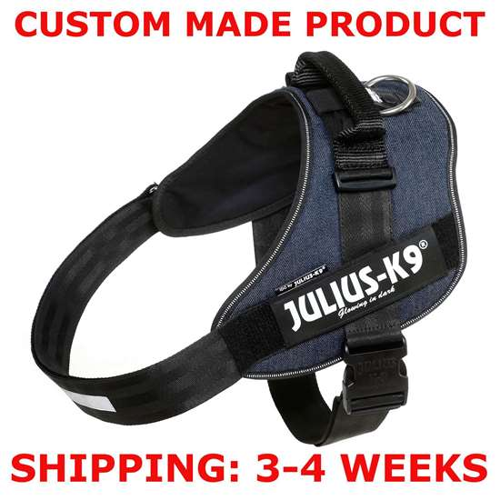 Picture of DENIM, Size 4 Julius-K9 IDC® Powerharness