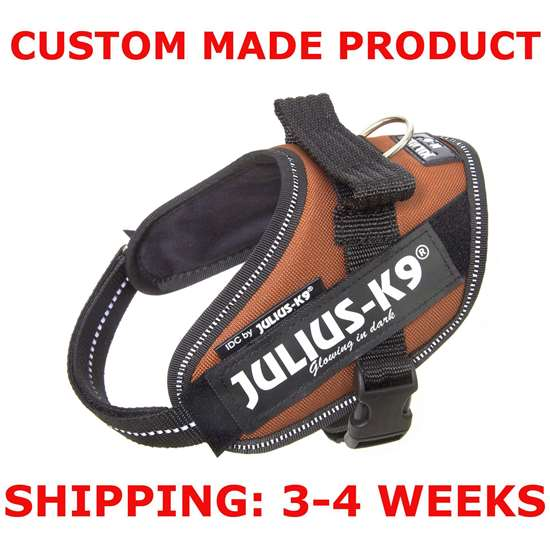 Picture of Kupferorange Mini-Mini Julius-K9 IDC® Powerharness