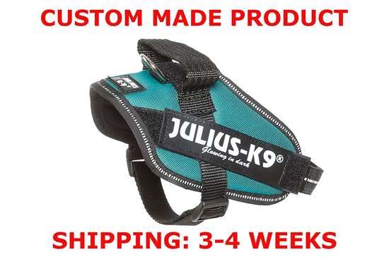 Picture of Petrol Green Julius-K9 IDC® Powerharness, Mini