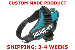 Picture of Petrol Green Julius-K9 IDC® Powerharness, Size 1
