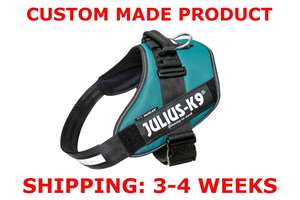 Picture of Petrol Green Julius-K9 IDC® Powerharness, Size 3