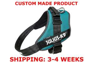 Picture of Petrol Green Julius-K9 IDC® Powerharness, Size 4