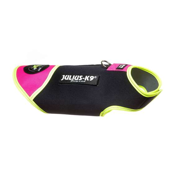 Picture of Black & Pink, XS IDC® neoprene dog jacket