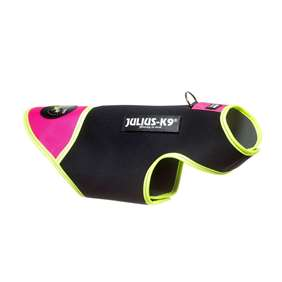 Picture of Black & Pink, S IDC® neoprene dog jacket