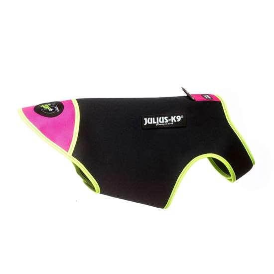 Picture of Black & Pink, L IDC® neoprene dog jacket